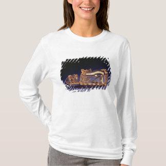 Djed pillar pectoral and wedjet eye pectoral T-Shirt
