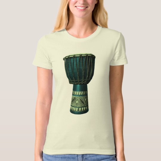 Djembe (Blue) T-Shirt