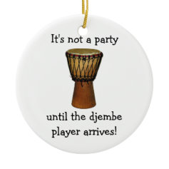 DJEMBE Christmas ornament