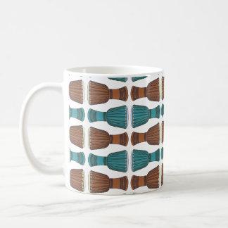 Djembe Drum Pattern Coffee Mug