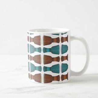 Djembe Drum Pattern Mug