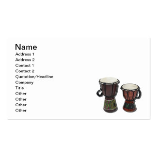 Djembe Drums Business Card Template