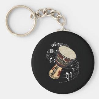Djembe Keychain