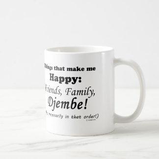 Djembe Makes Me Happy Coffee Mug