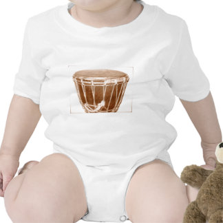 Djembe Music Gifts Baby Creeper