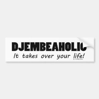 Djembeaholic Life Bumper Sticker