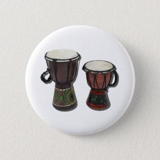 DjembeDrums081311 Pinback Button