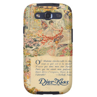 Djer Kiss French Perfume Label Galaxy SIII Cases