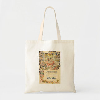 Djer Kiss French Perfume Label Tote Bag