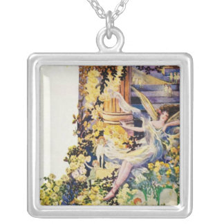 Djer Kiss Parisian Fairy Advertisement 1920 Personalized Necklace