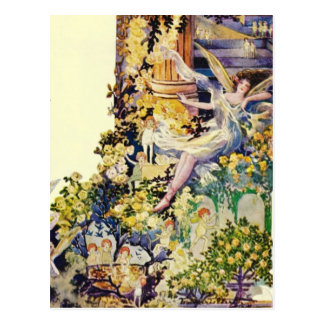 Djer Kiss Parisian Fairy Advertisement 1920 Post Card