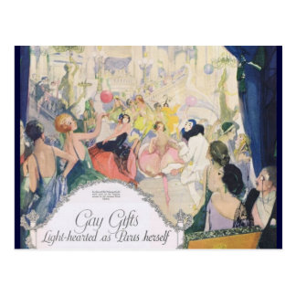 Djer Light-hearted as Paris Herself Postcard