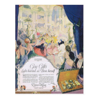 Djer Light-hearted as Paris Herself Postcards