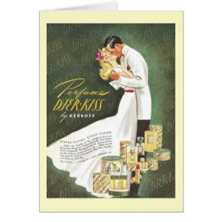 Djer Romantic Kisses Card