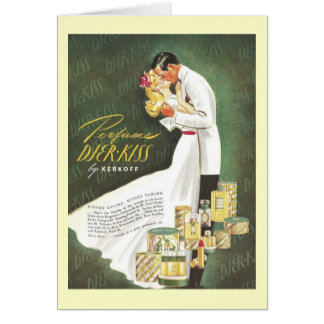Djer Romantic Kisses Greeting Card