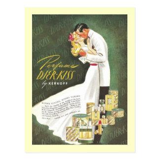 Djer Romantic Kisses Post Cards
