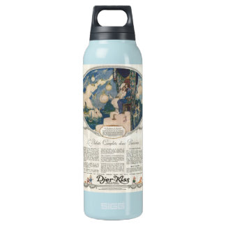 Djerkiss Romantic French Perfume Ad SIGG Thermo 0.5L Insulated Bottle