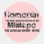 Djfulbreed Presents Homerun Mixtape Stickers