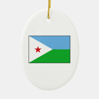 Djibouti - bandera de Yibuti Adorno De Reyes