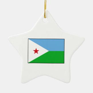 Djibouti - bandera de Yibuti Ornatos