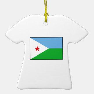 Djibouti - bandera de Yibuti Ornamento Para Reyes Magos