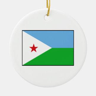 Djibouti - bandera de Yibuti Ornamento De Reyes Magos