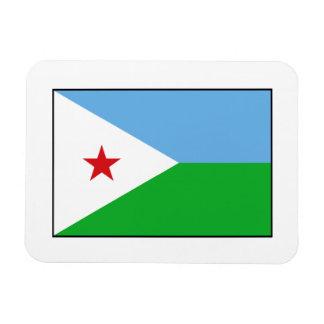 Djibouti - bandera de Yibuti Iman Rectangular
