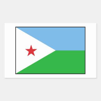 Djibouti - bandera de Yibuti Rectangular Altavoces