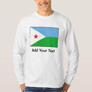 Djibouti - bandera de Yibuti Playera