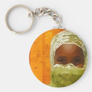 Djibouti children keychain