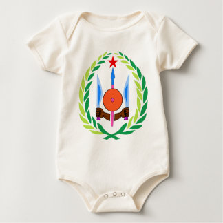 Djibouti Coat of Arms Baby Bodysuit