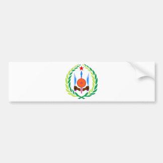 Djibouti Coat of Arms Bumper Sticker