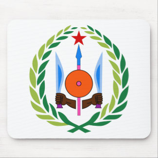 Djibouti Coat of arms DJ Mousepad