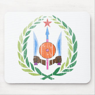 Djibouti Coat Of Arms Mouse Pads