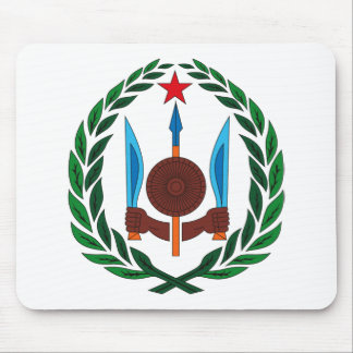 Djibouti Coat of Arms Mousepad