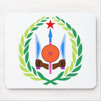 Djibouti Coat of Arms Mousepads