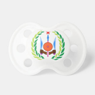 Djibouti Coat of Arms Baby Pacifiers