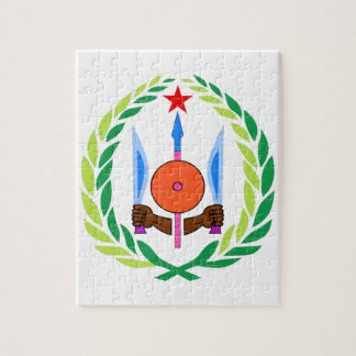 Djibouti Coat of Arms Jigsaw Puzzle
