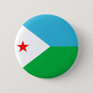 djibouti country flag nation symbol pinback button