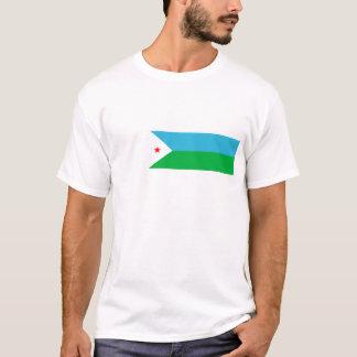 djibouti country flag nation symbol T-Shirt