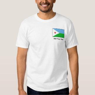 Djibouti - Djiboutian Flag T Shirt