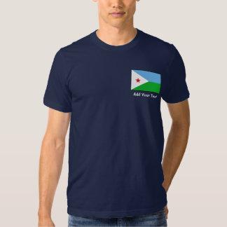 Djibouti - Djiboutian Flag Tee Shirt