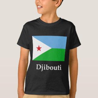Djibouti Flag And Name T-Shirt
