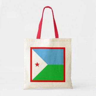 Djibouti Flag Bag