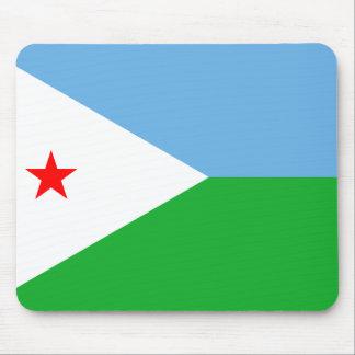Djibouti Flag DJ Mousemat