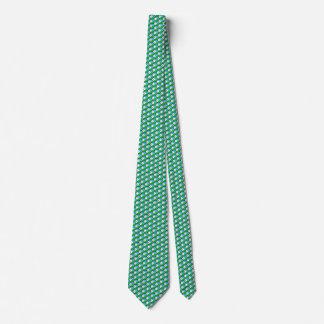 Djibouti Flag Honeycomb Tie