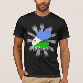 Djibouti Flag Map 2.0 T-Shirt