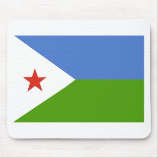 Djibouti Flag Mouse Pad