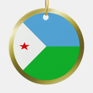Djibouti Flag Ornament