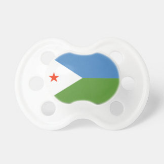 Djibouti Flag Baby Pacifier